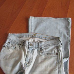7 For all Mankind Boho Jeans Super Flare